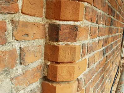 handmade brick for renovation elevation antique of manufacture brickyard Trojanowscy poland