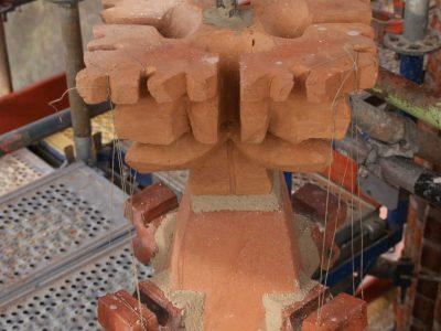 kwiatony ręcznie formowane artystyczne producent cegielnia trojanowscy