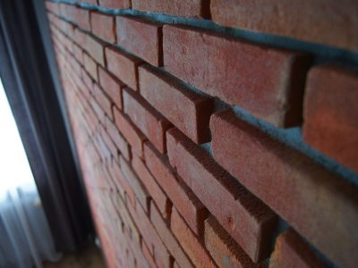 plates with brick cherry handmade workshop producer brick factory trojanowscy poland
