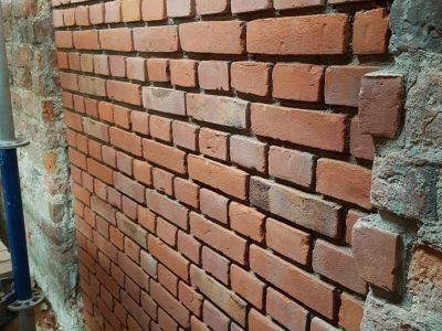 renovation of church s. Trinity gdansk brick hand molded producer brick factory poland