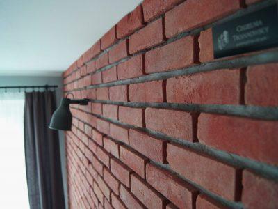 shallow decorative cherry old brick maker workshop brick factory trojanowscy poland
