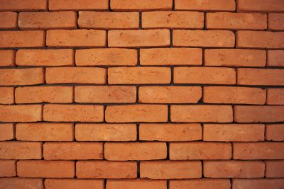 stara płytka z cegły ceglana elewacyjna pomarańczowa