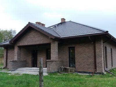 cegła czarna elewacyjna na dom