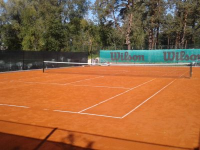 tennis court milled clay brick powder producer