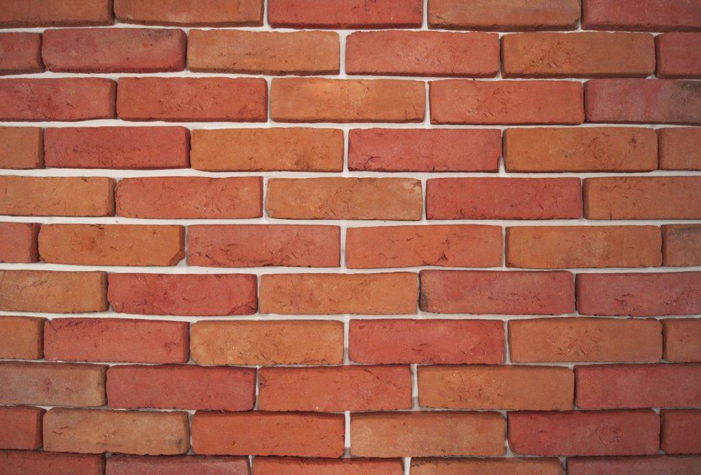 Brick Facade Antiqued Melange Brickyard Trojanowscy