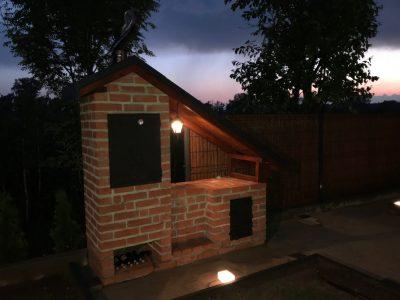 barbecue with brick poland hand made and craft workshop brickfactory Trojanowscy