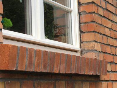 brick red renovation repair wall