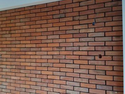 dekorative Wand Ziegel flach Retro Herstellung