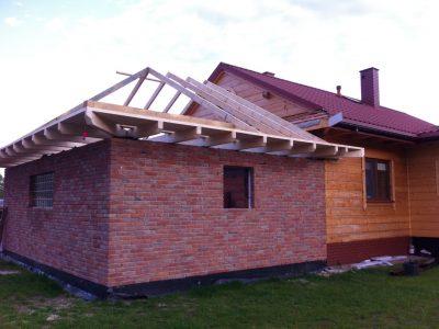 elewacja domu cegła ręcznie produkowana cegielnia trojanowscy