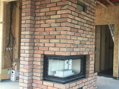 fire brick retro hand made