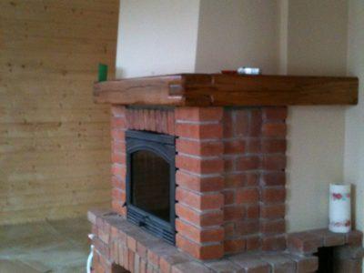fire brick retro hand molded manufacture trojanowscy
