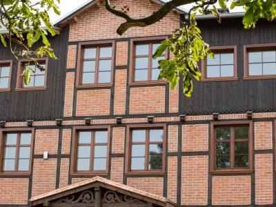 wall prussian torun brick renovation reconstruction