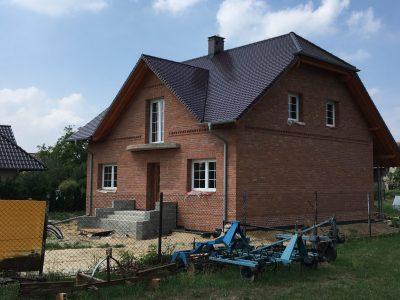 brick hand molded elevation house brick factory Trojanowscy