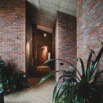Retro Ziegelstein für einen Warschauer Haushersteller