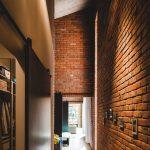 Retro brick house Trojanowscy