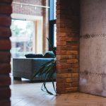 Retro brick bricks factory Trojanowscy