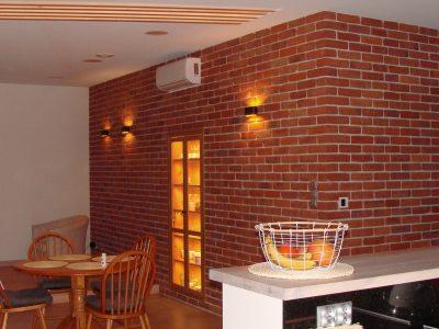 decorative brick old retro