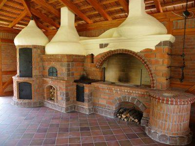 kominek cegła dekoracyjna ręcznie produkowana