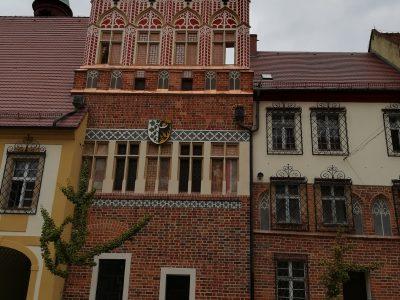 Ziegel auf Denkmäler Polen Gotik