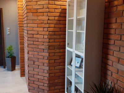 płytka z cegły ręcznie formowanej dekoracyjna