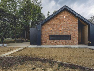 brick rustic modern barn
